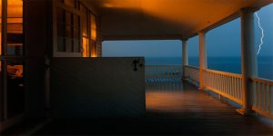 Meyerowitz photo of Provincetown porch