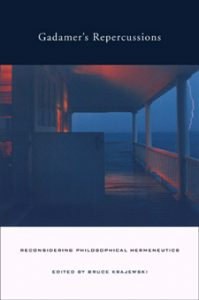 book cover of Gadamer's Repercussions